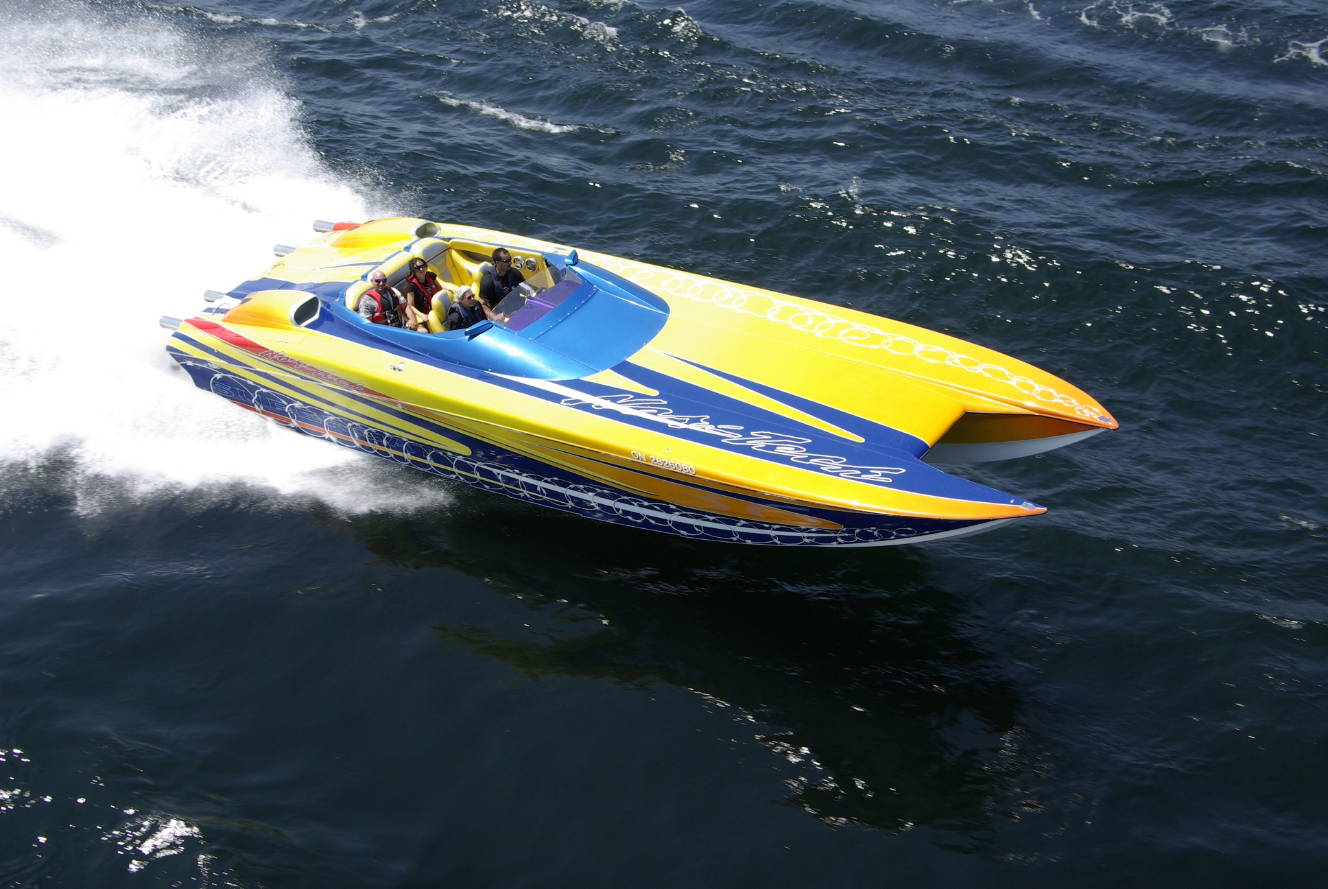 Mike Facchin 36 NorTech Supercat